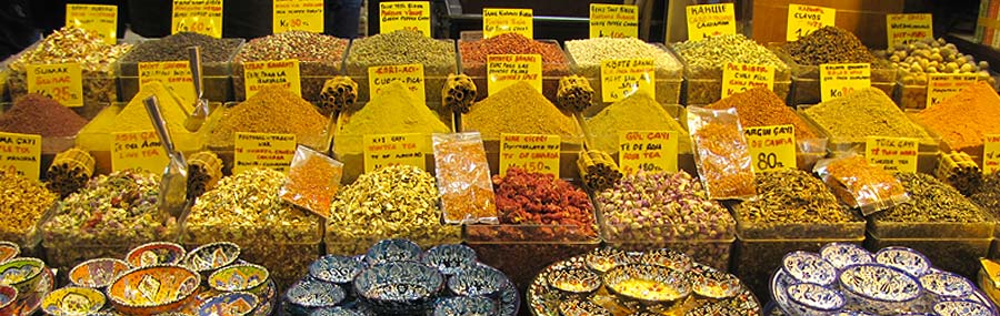 Spice Bazaar Istanbul, Spice Market Istanbul, Shopping in ...